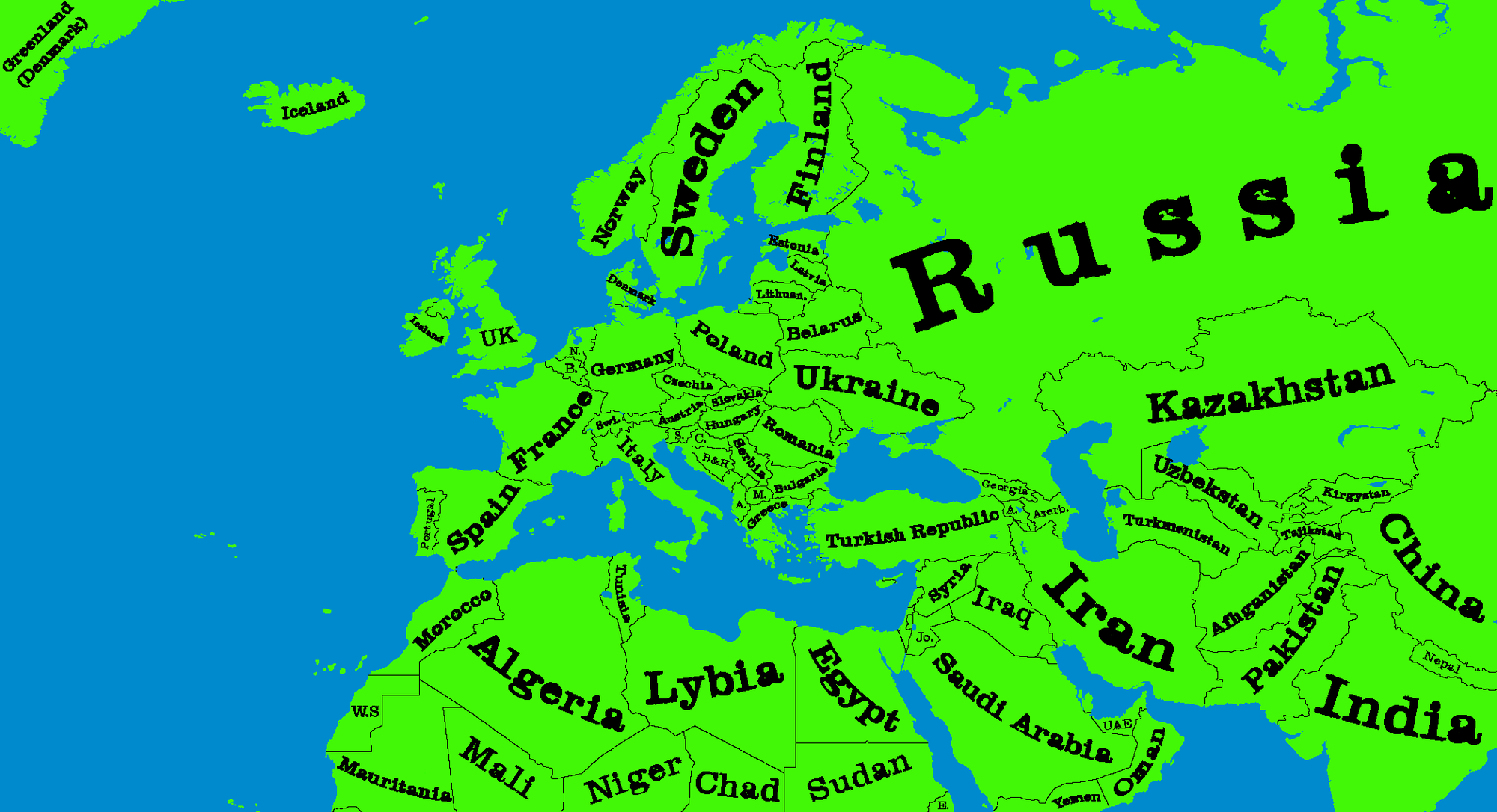 Maps for mappers thefutureofeuropes wiki fandom powered by wikia map of europe no names for the wiki gumiabroncs Image collections