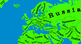 Green Map Of Europe.Maps For Mappers Thefutureofeuropes Wiki Fandom Powered By Wikia
