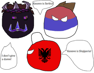 Darkball doesn't care about Kosovo