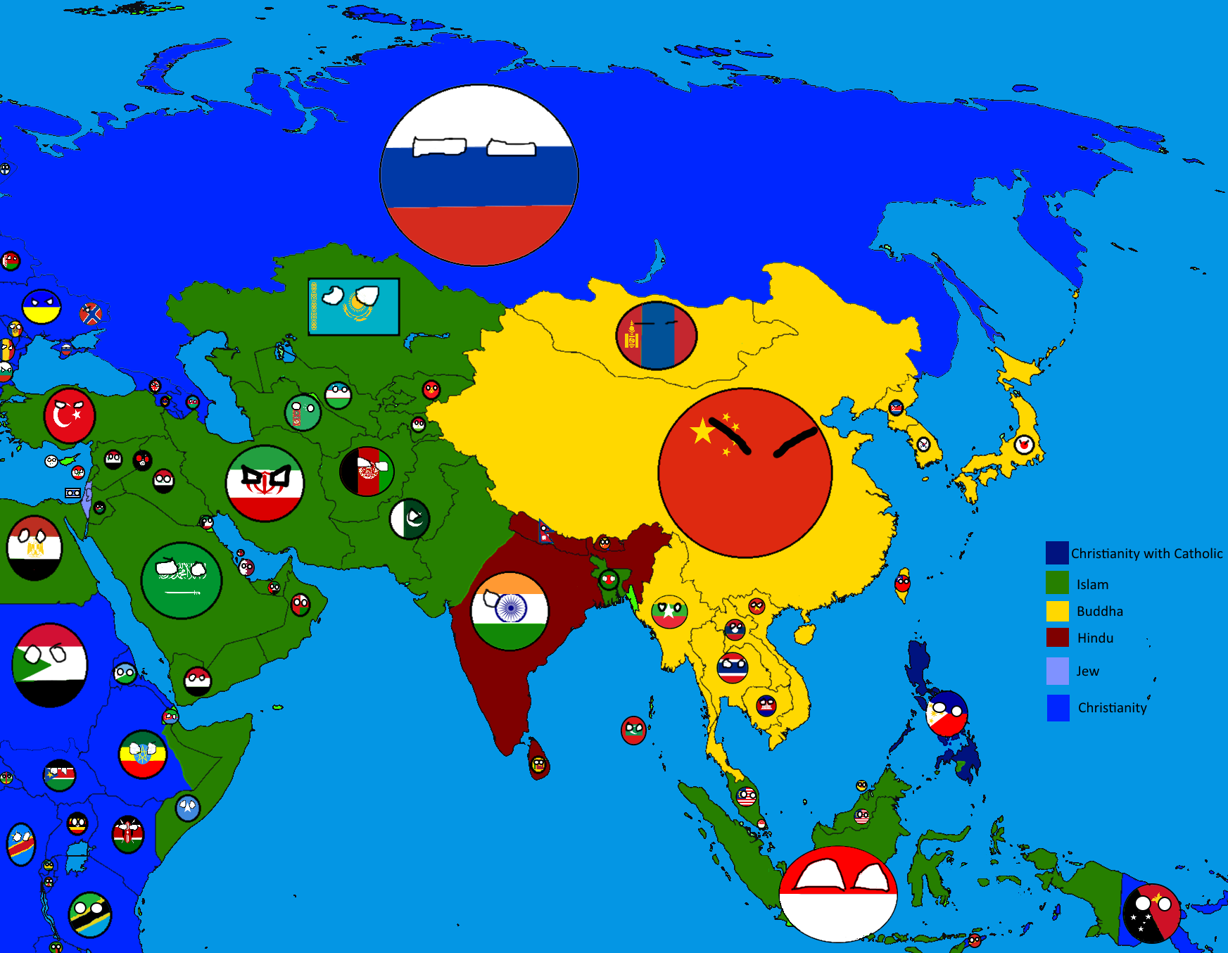 Maps for mapperscountryball style thefutureofeuropes wiki religions of asia in countryballs gumiabroncs Choice Image