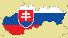 Blank Map of Slovakia
