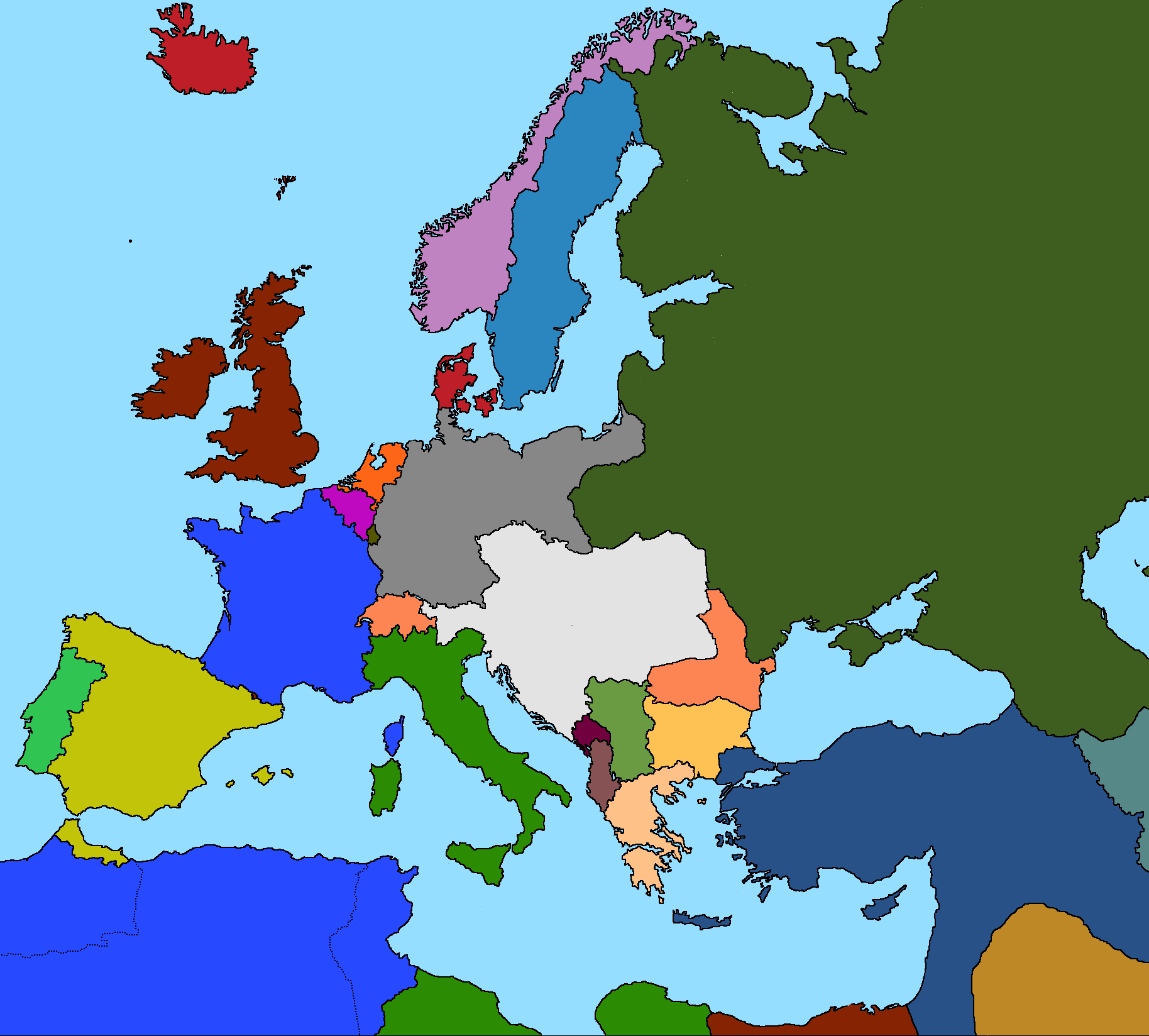 Years of blood world war i map game thefutureofeuropes wiki years of blood world war i starting map gumiabroncs Image collections