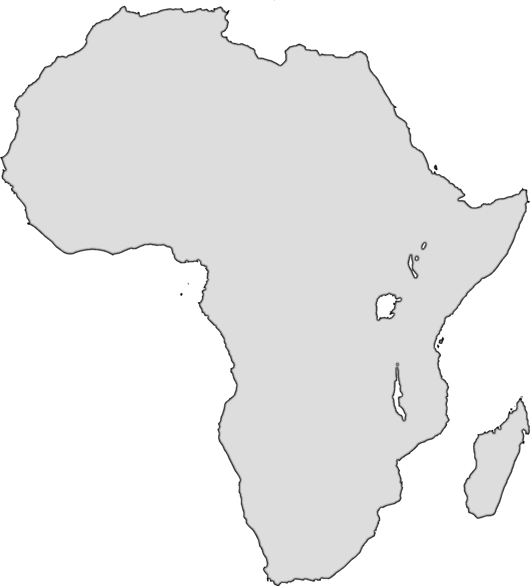 africa map outline vector free download