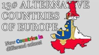 Alternative Countries of WHOLE Europe