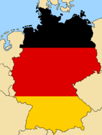 Blank Map of Germany