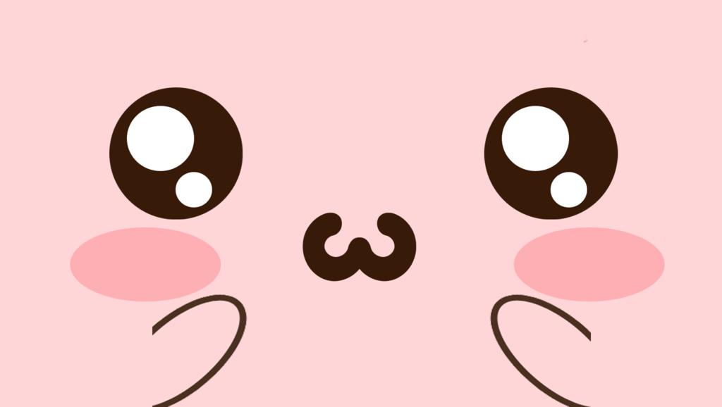 Wallpaper Kawaii Face Pink By Kawaistore D7d2nmg