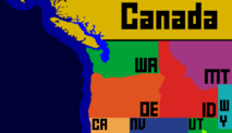 North West America (NO AK) and a Bit of Canada