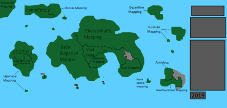Alternate future of mapping channels map