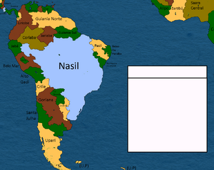 America do sul e parte da Africa Alternativa