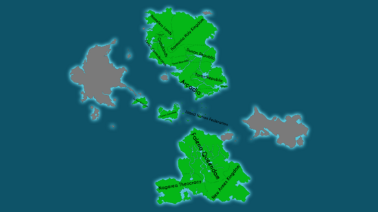 Map of Suikoden (With Names)