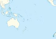 Oceania full blank map