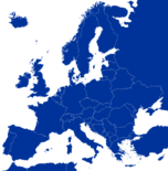 European Map (From Europa Mapping)