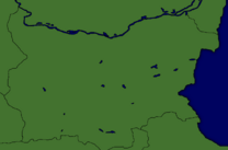 Map of Bulgaria made by Victae