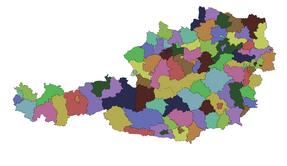 ÖsterreichBezirke