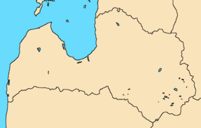 Latvia-political-map