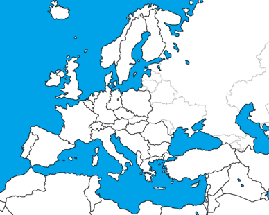 Europe in 1989