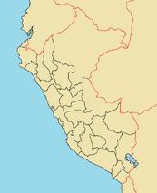 Province Map of Peru