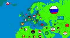 Goktug Mapper's Countryball Map
