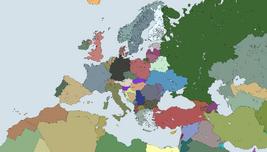 Detalied bigger Europe Map