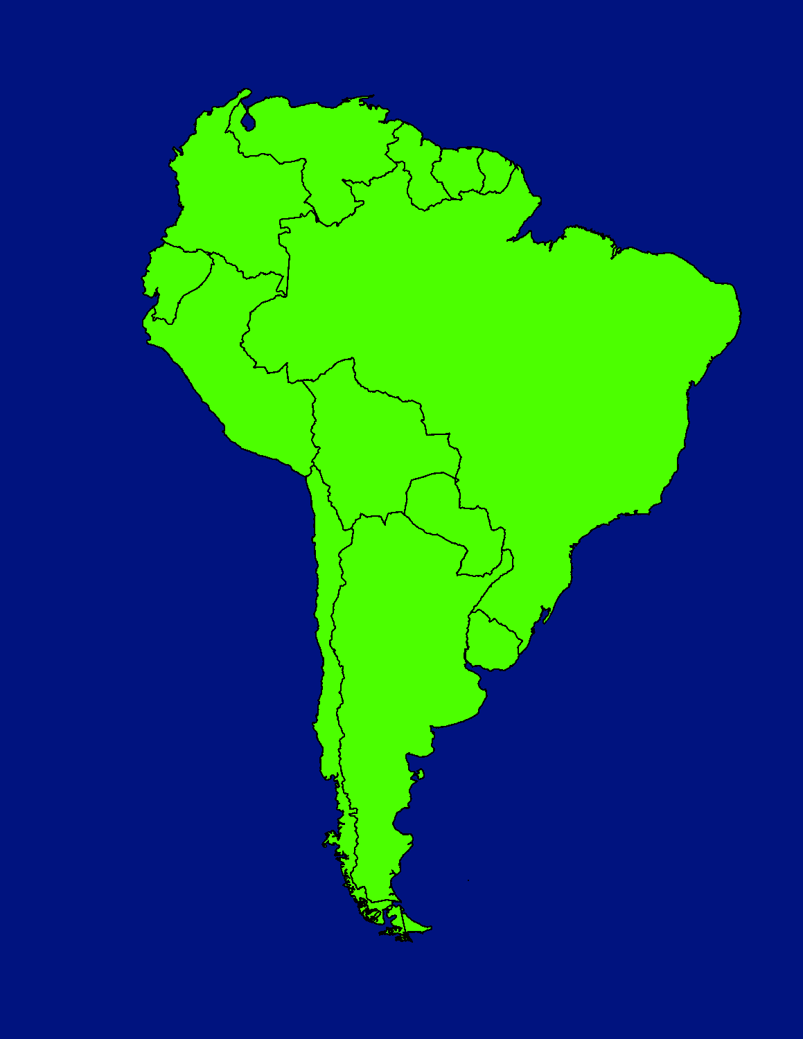 Image - South America Map.png | TheFutureOfEuropes Wiki | FANDOM ...
