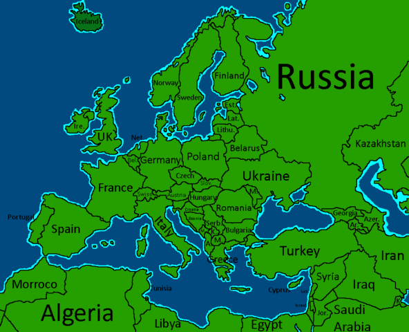 Image - Full AFOE Map.png | TheFutureOfEuropes Wiki | FANDOM powered ...