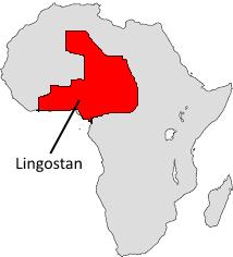 Lingostan map
