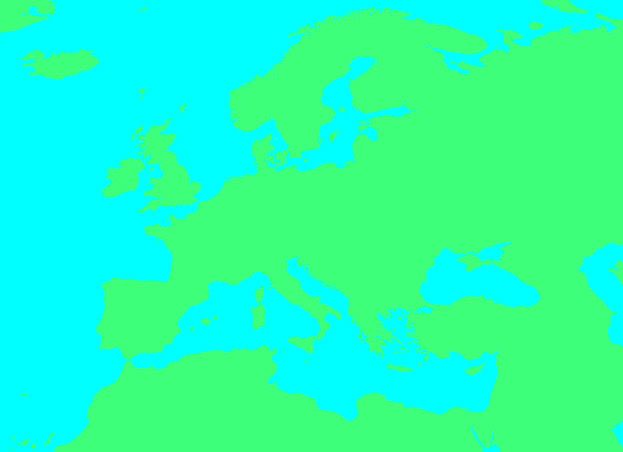 Image Blank map of Europe No borders2png TheFutureOfEuropes