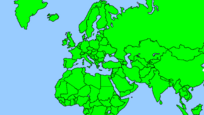 Map of Europe 1