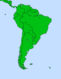 South America (half Fineshed)