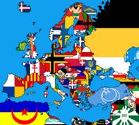 Alternate Europe Map 3