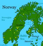 Scandinavia after Global Warming