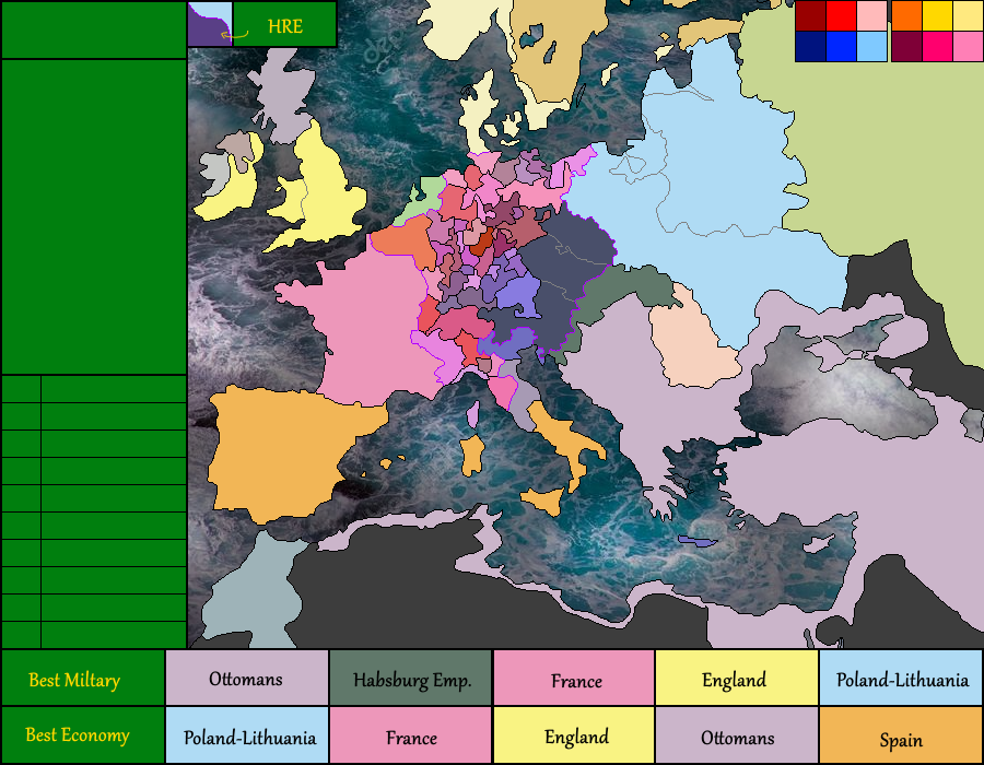 Exceptional Europe 1600
