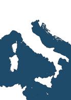 Blank Italian Map