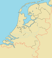 Provinces Map of the Netherlands