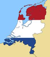 Blank Map of Netherlands