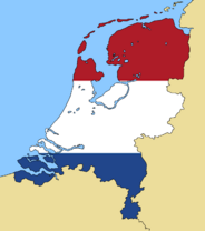 Blank Map of Netherlands