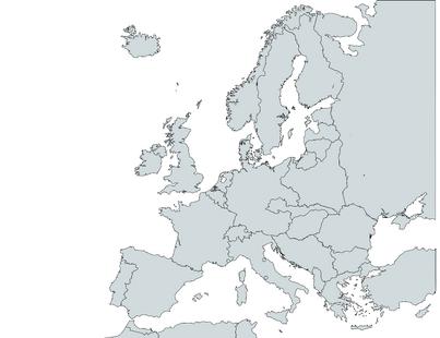 Map of Europe, November 1938
