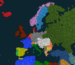 WWI with provinces