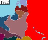 East Europe 1922