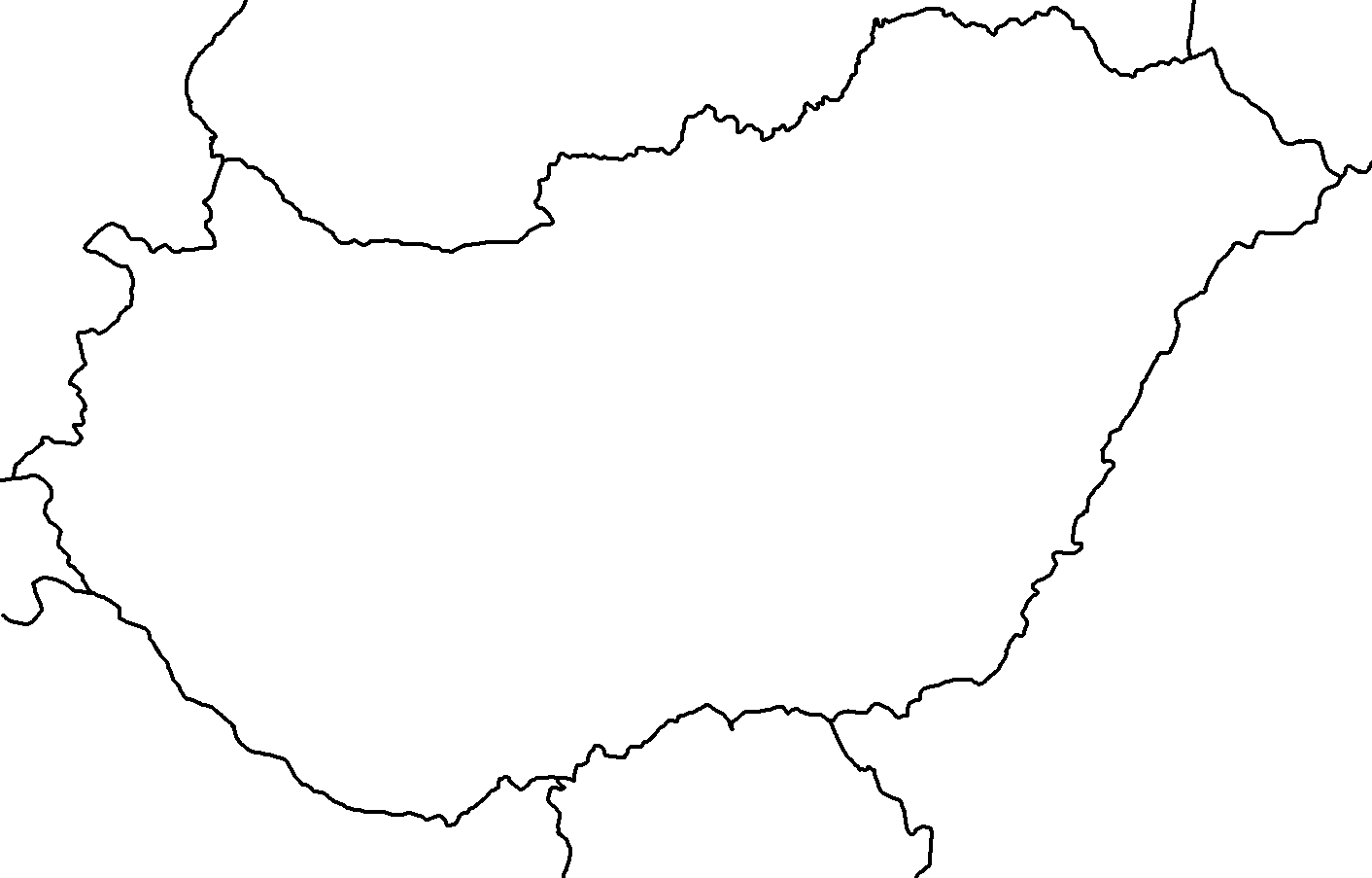Image Blank Map Of Hungarypng TheFutureOfEuropes Wiki - Hungary blank map