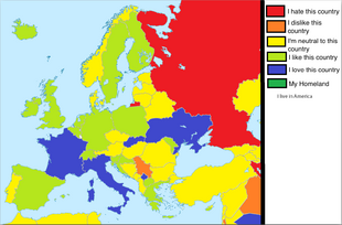 Country Relationships Europe