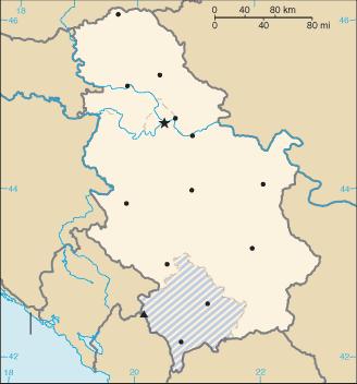 Szerbia vak 2008
