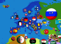 Countryballs Europe