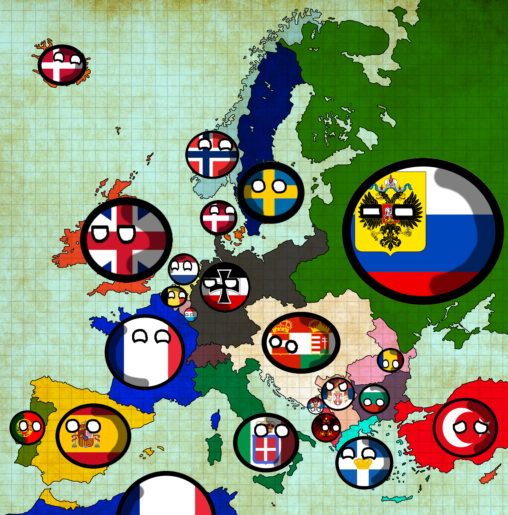 Image - Europe 1914 map.png | TheFutureOfEuropes Wiki | FANDOM ...
