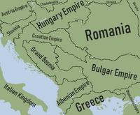 Mapa alternativo dos Balkans