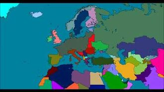 Rise and fall of Four Reich 2020-2070