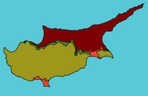 0.1Cyprus Split with Attila Line and British Lands