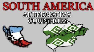 Alternative Countries of SOUTH AMERICA