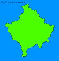 Карта косово остров