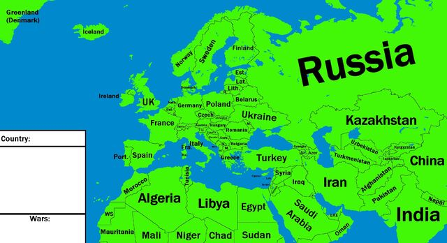 Image - Map of Europe,Half of Asia,and some of Africa..jpg ...